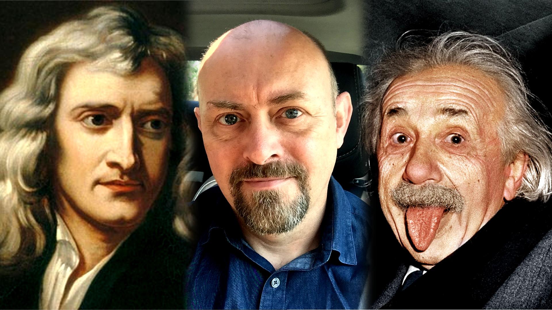 Sir Isaac newton, Matthew Lawrence and Albert Einstein